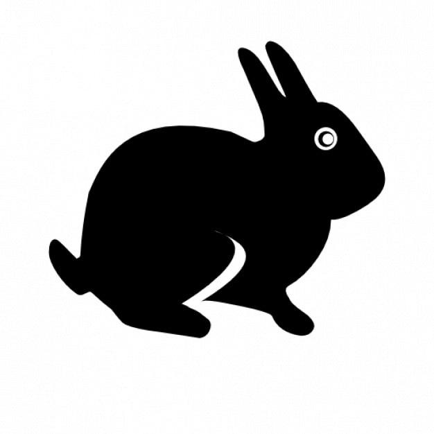 Easter rabbit Free Icon