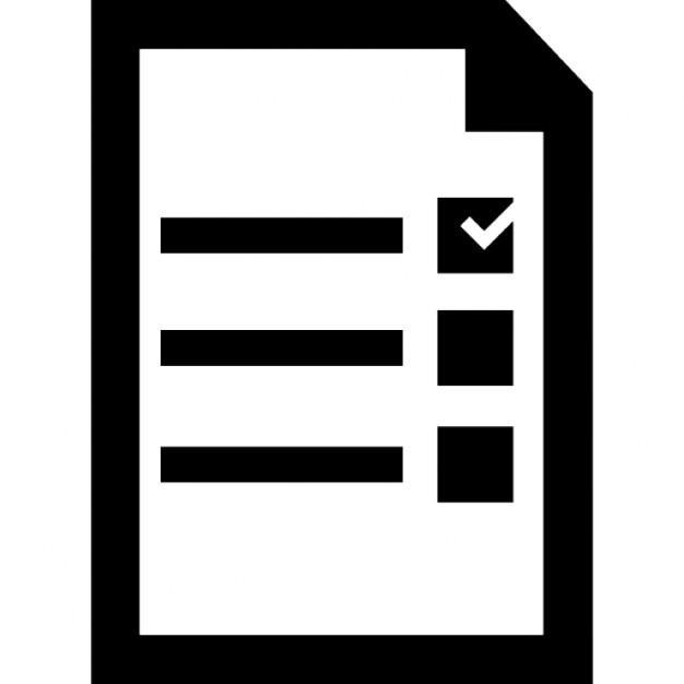 Election Checklist Symbol Icons Free Download