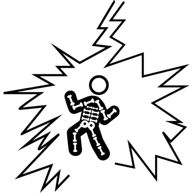 Electrical shock of a storm lighting bolt on a person Free Icon  sc 1 st  Freepik & Electrical shock of a storm lighting bolt on a person Icons | Free ... azcodes.com