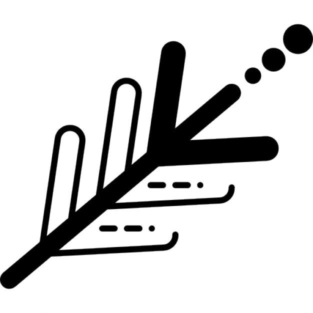 electronic circuit design like an indian arrow icons