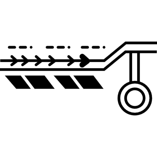 electronic circuit print icons