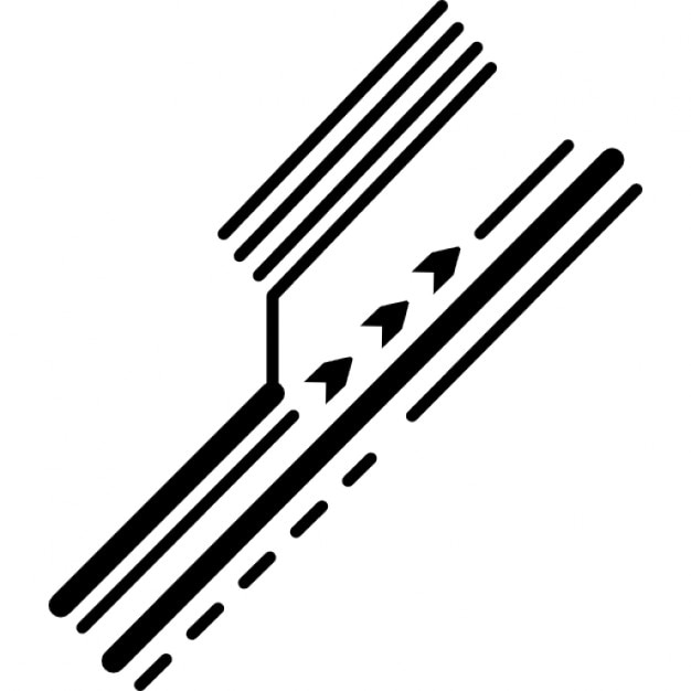 electronic printed circuit detail of diagonal lines icons