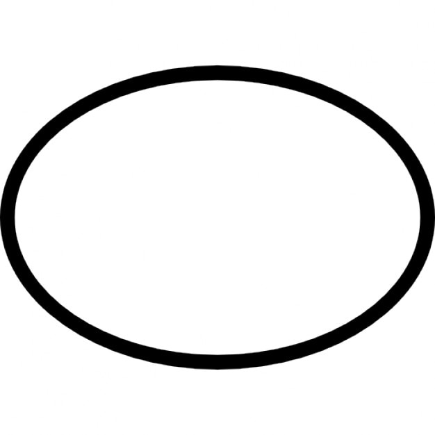 Ellipse Outline Shape Variant 737177 on 3551