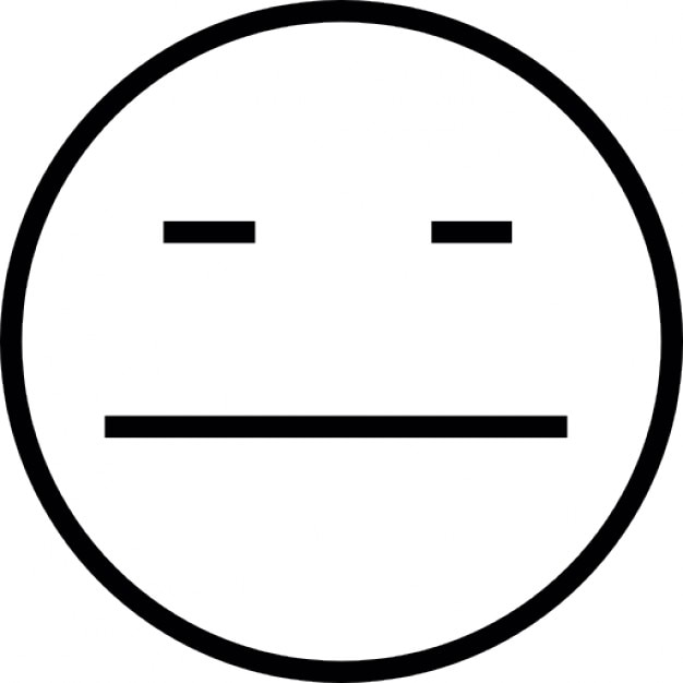 Emoticon With Sad Face Ios 7 Interface Symbol Icons Free Download
