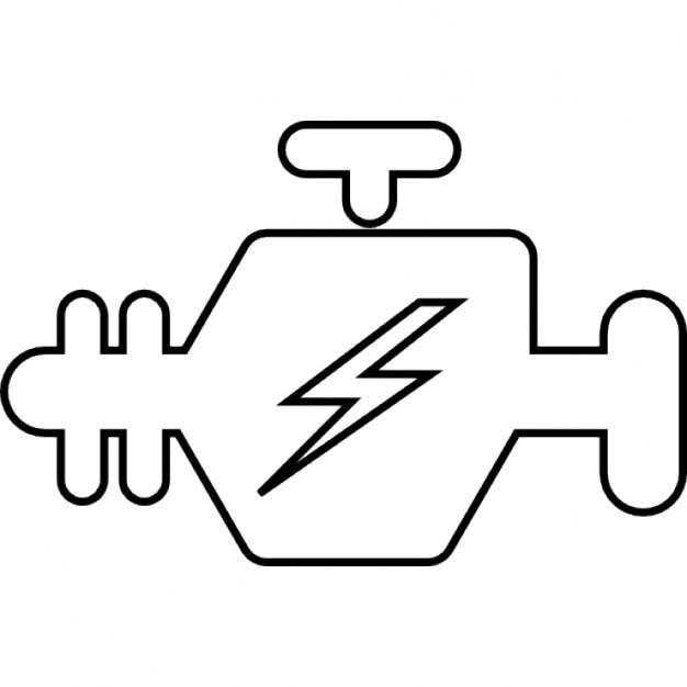 check engine icon light vector  check  free engine image