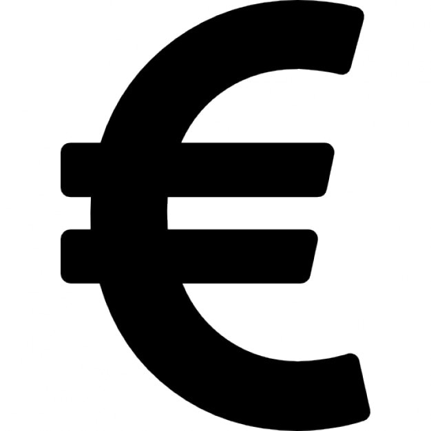 Euro currency symbol Icons | Free Download