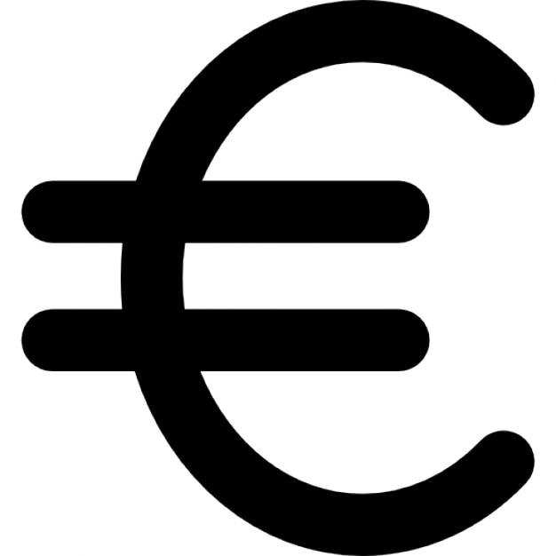 Euro Currency Symbol Icons Free Download