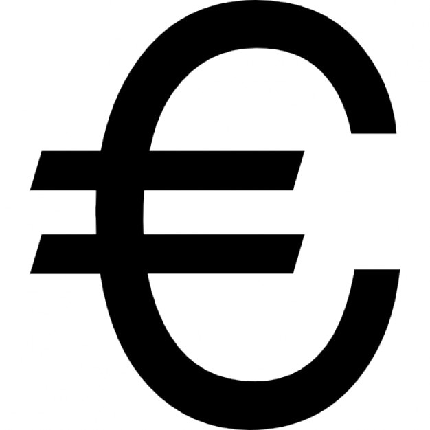 Symbol For Euro Clipart Library