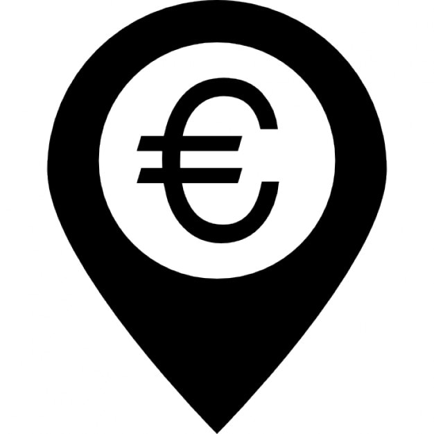 Euro Symbol In A Placeholder Icons Free Download