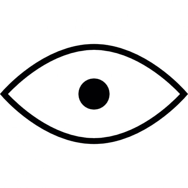 eye shape icons free download orange clipart png orange clipart faces