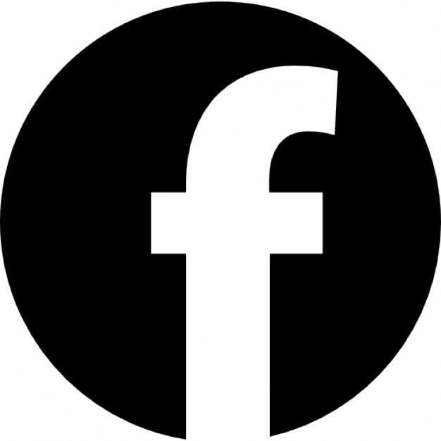 Facebook Logo In Circular Shape Icons Free Download