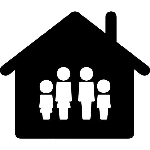 Family Home Icons Free Download