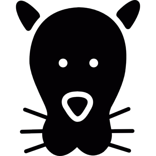 Feline Head Icons Free Download