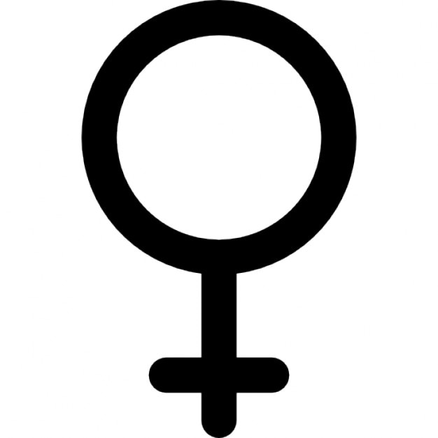 Female Gender Sign Icons Free Download