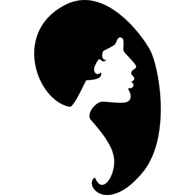 Female hair shape and ...