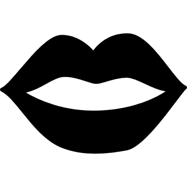 Lips Symbol Female mouth lips icons free download