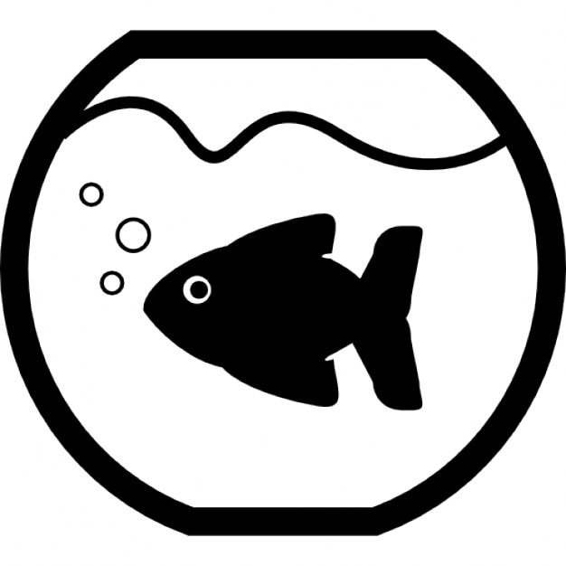 Coloring Page Fish Bowl Empty : Fish bowl vectors photos and psd files free download