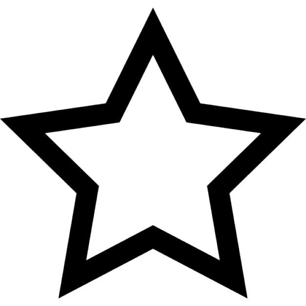 Five pointed star outline icons free download - Scherenschnitt sterne ...