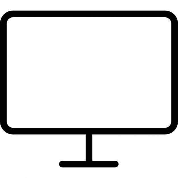Flat Screen Monitor Icons Free Download