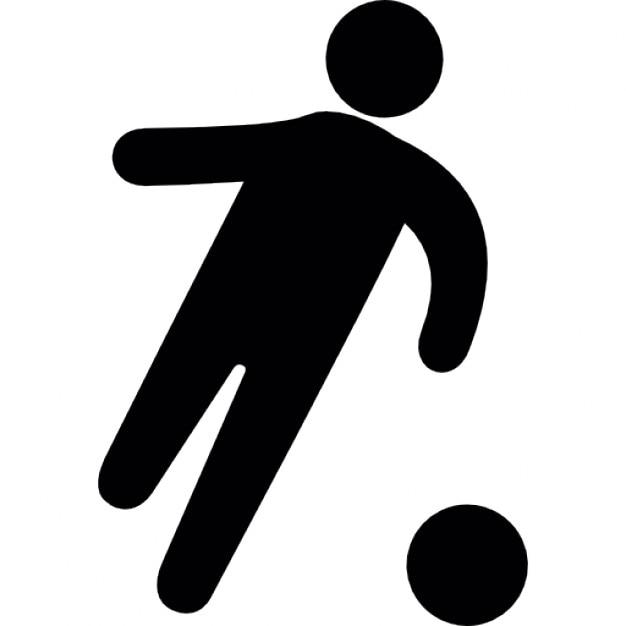 Football player symbol