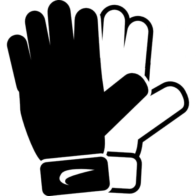football sports gloves icons free download