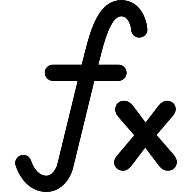 Function Mathematical Symbol Icons Free Download
