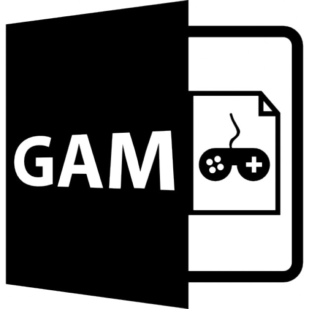 gam open file format icons