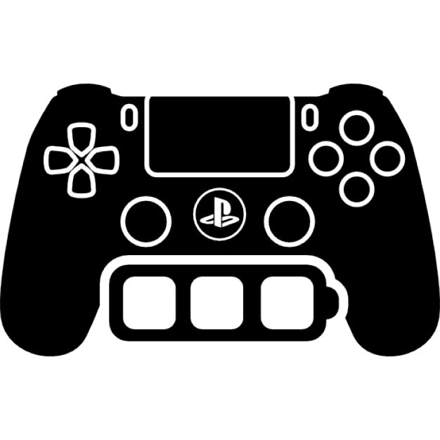 Game Control Tool With Full Battery Symbol Icons Free Download