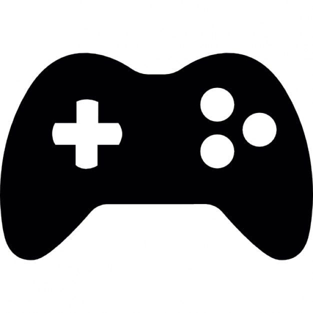 Gamepad with 3 buttons Icons | Free Download