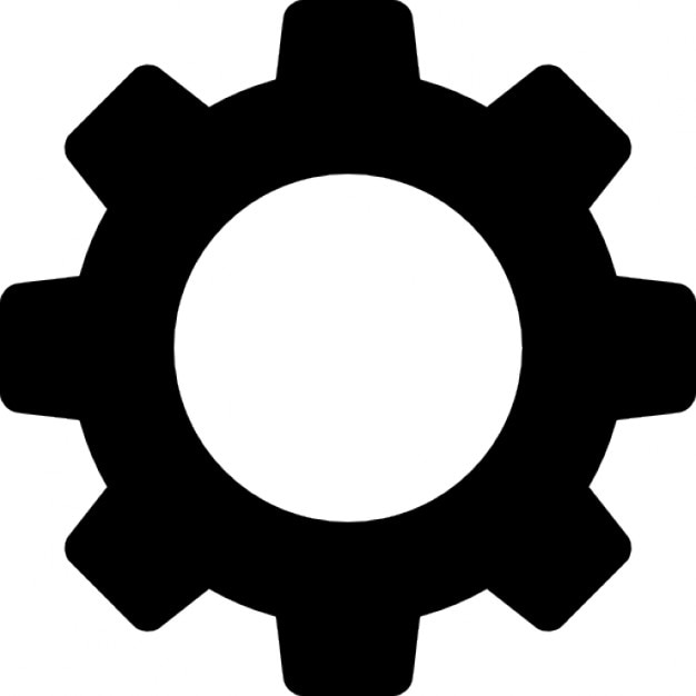 Image result for youtube hd cog  symbol