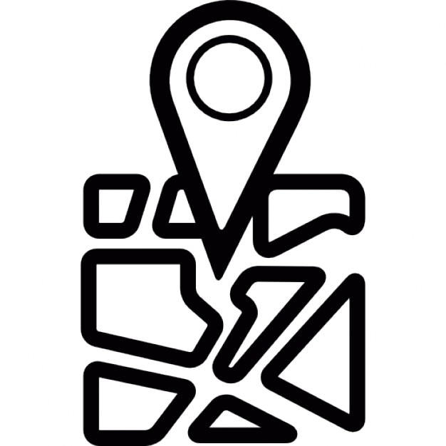 symbol place icon geolocalization geolocated interface icons geolocation ago vectors years eps edit check vector freepik
