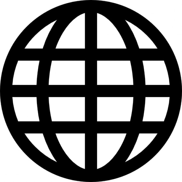 globe grid icons free download Website Icon Vector Globe Vector Drawing