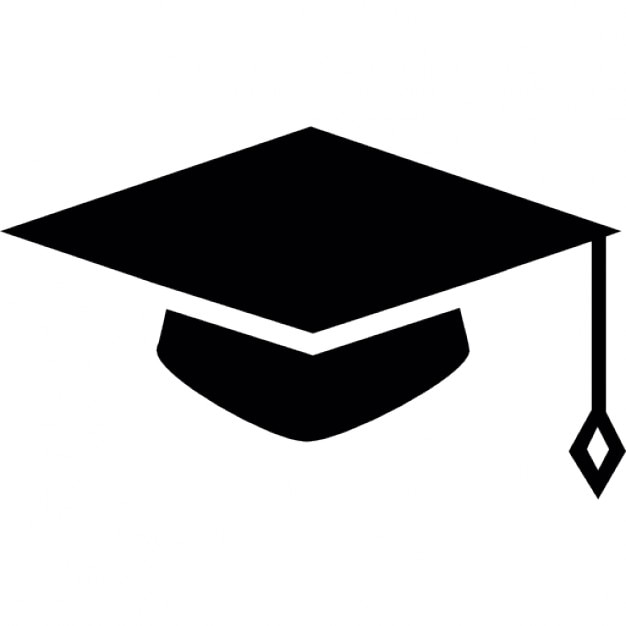 graduates cap icons free download rh freepik com Graduation Cap Vector Graduation Cap Vector