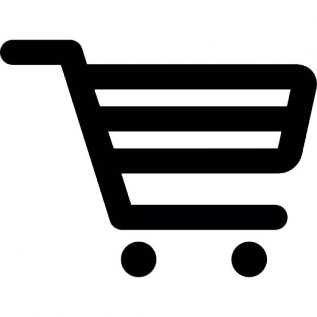 grocery trolley outline icons free download