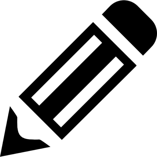 Gross pencil tool with stripes in diagonal for edit Free eps editor