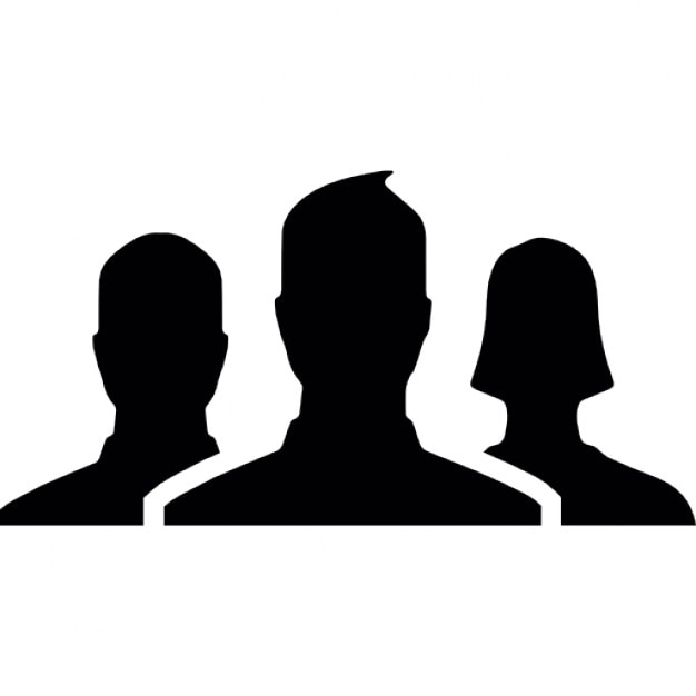Group Of Persons Symbol For Facebook Icons Free Download