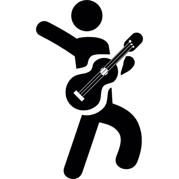 Guitar player Icons | Free Download