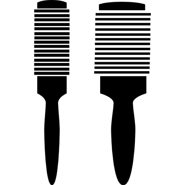 hair brushes icons free download