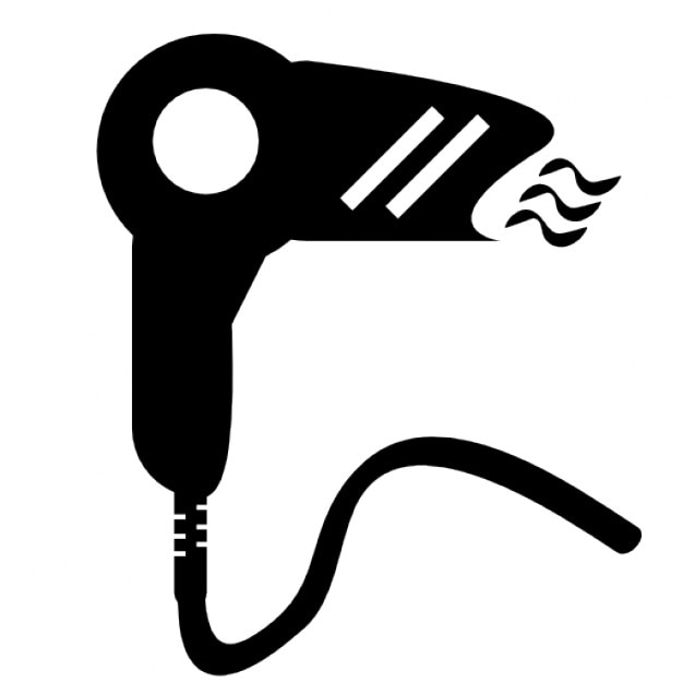 Hair Dryer Clip Art ~ Hair dryer icons free download