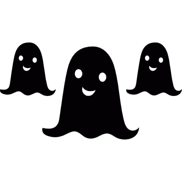 Halloween ghosts group Icons | Free Download