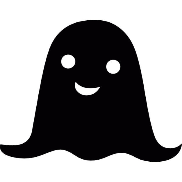 Halloween small ghost Icons | Free Download