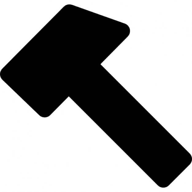 Hammer Ios 7 Interface Symbol Icons Free Download
