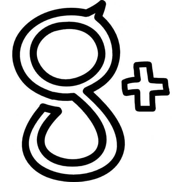 Hand Drawn Google Plus Logo Icons Free Download