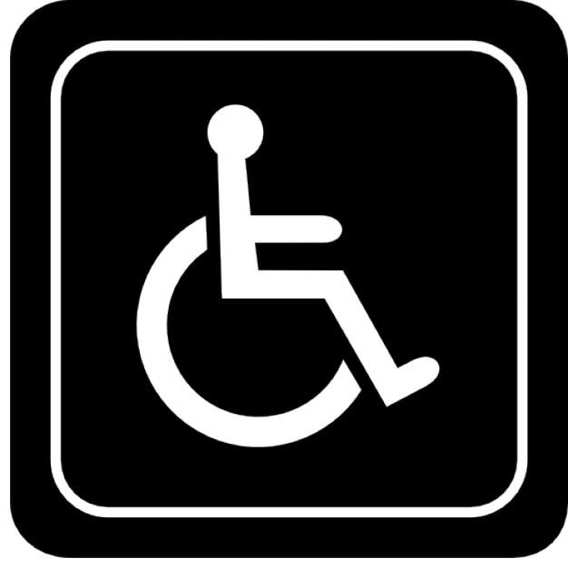 handicapped sign icons free download rh freepik com vector handicap logo handicapped logo design