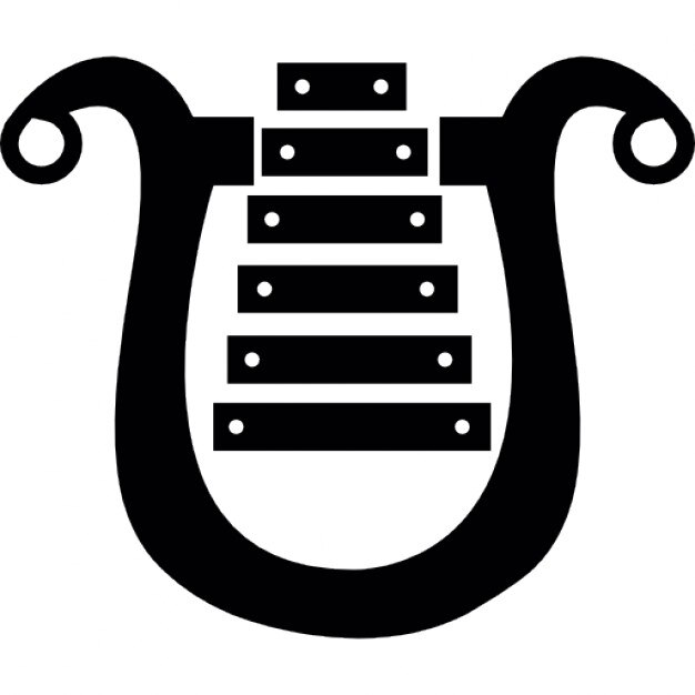 Harp Musical Instrument Ios 7 Symbol Icons Free Download