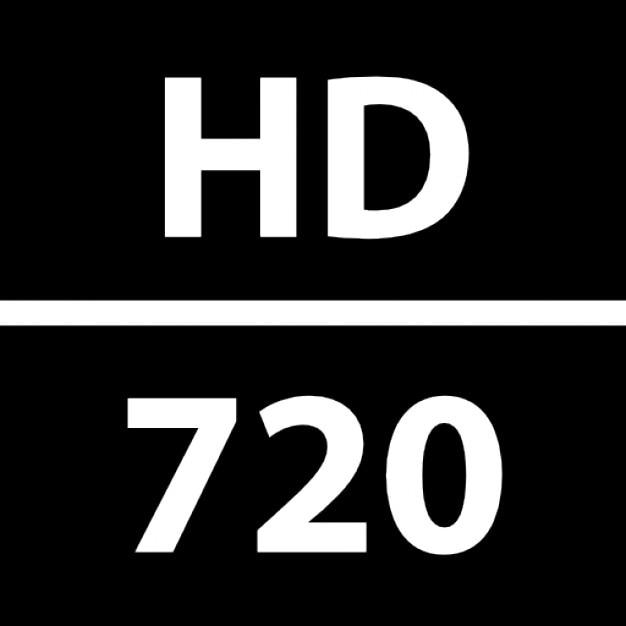 HD 720 surveillance film Icons