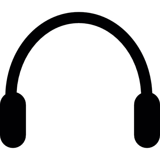 Headset silhouette Icons | Free Download