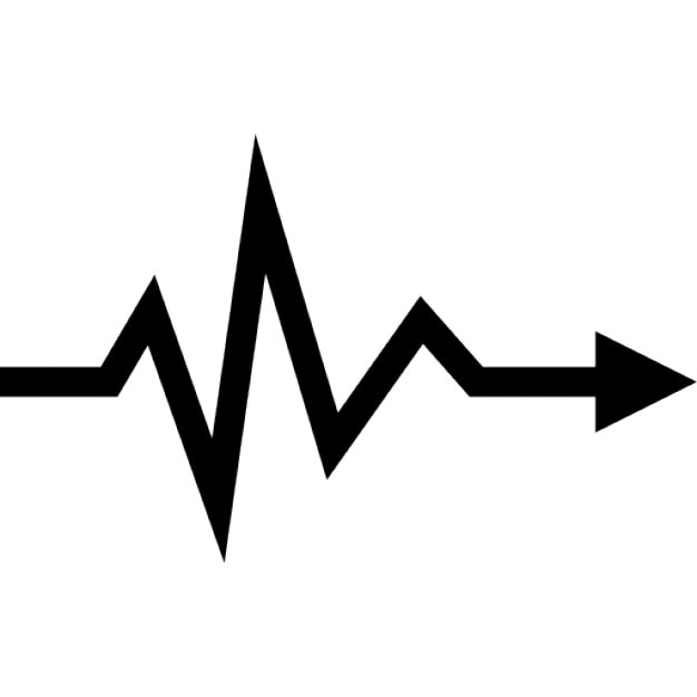 Heartbeat Lifeline Arrow Symbol 731254 on search vectors