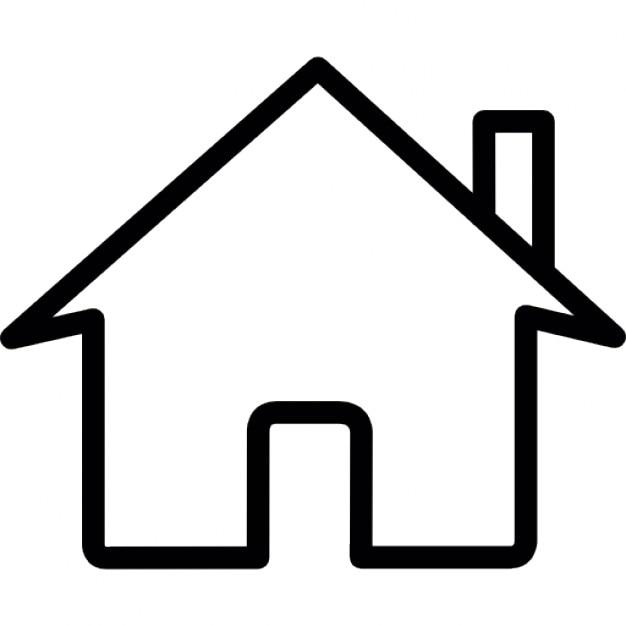 Orange Real Estate Logotypes: Home, IOS 7 Interface Symbol Icons