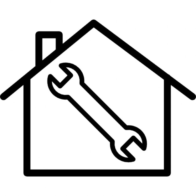 Home Repair Symbol Icons Free Download